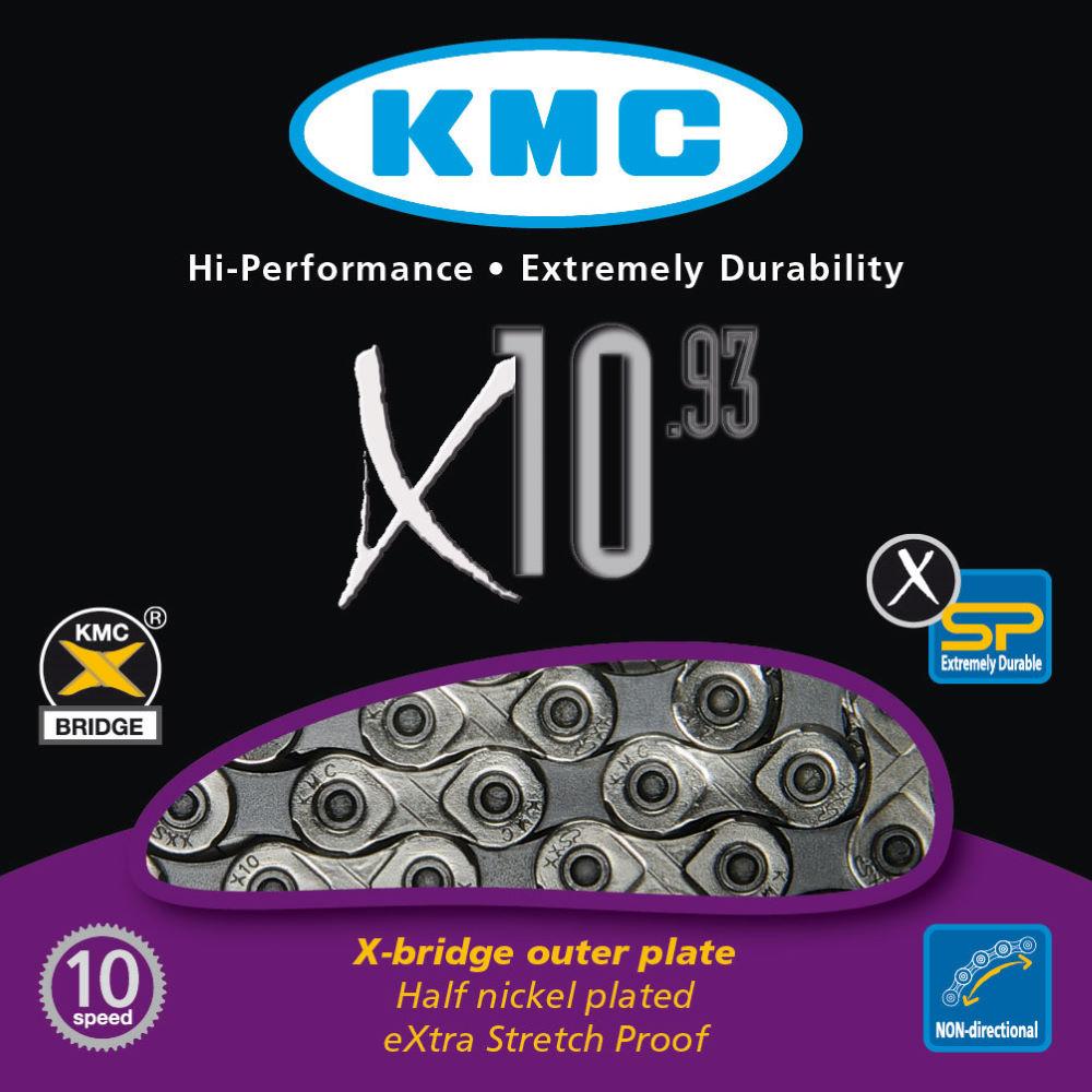 KMC X10.93 10 Speed Chain