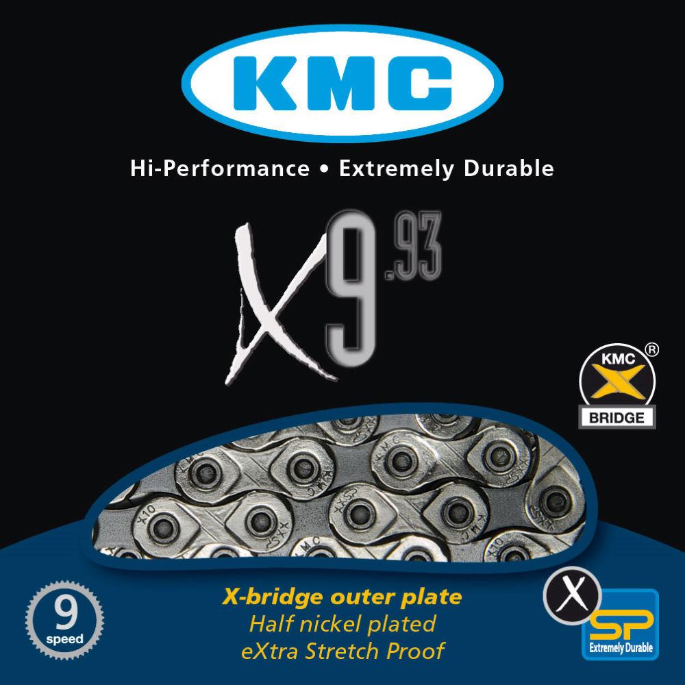 KMC X9.93 9 Speed Chain