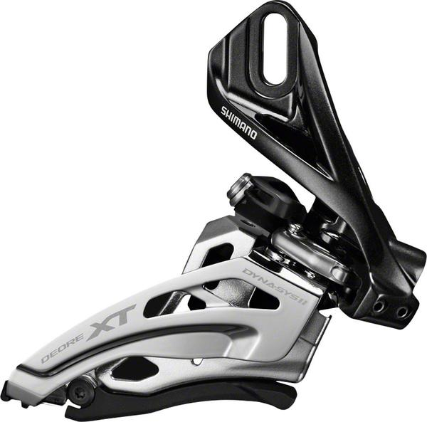 Shimano XT M8000-D 3×11 Direct-Mount, Side-Swing, Front Derailleur