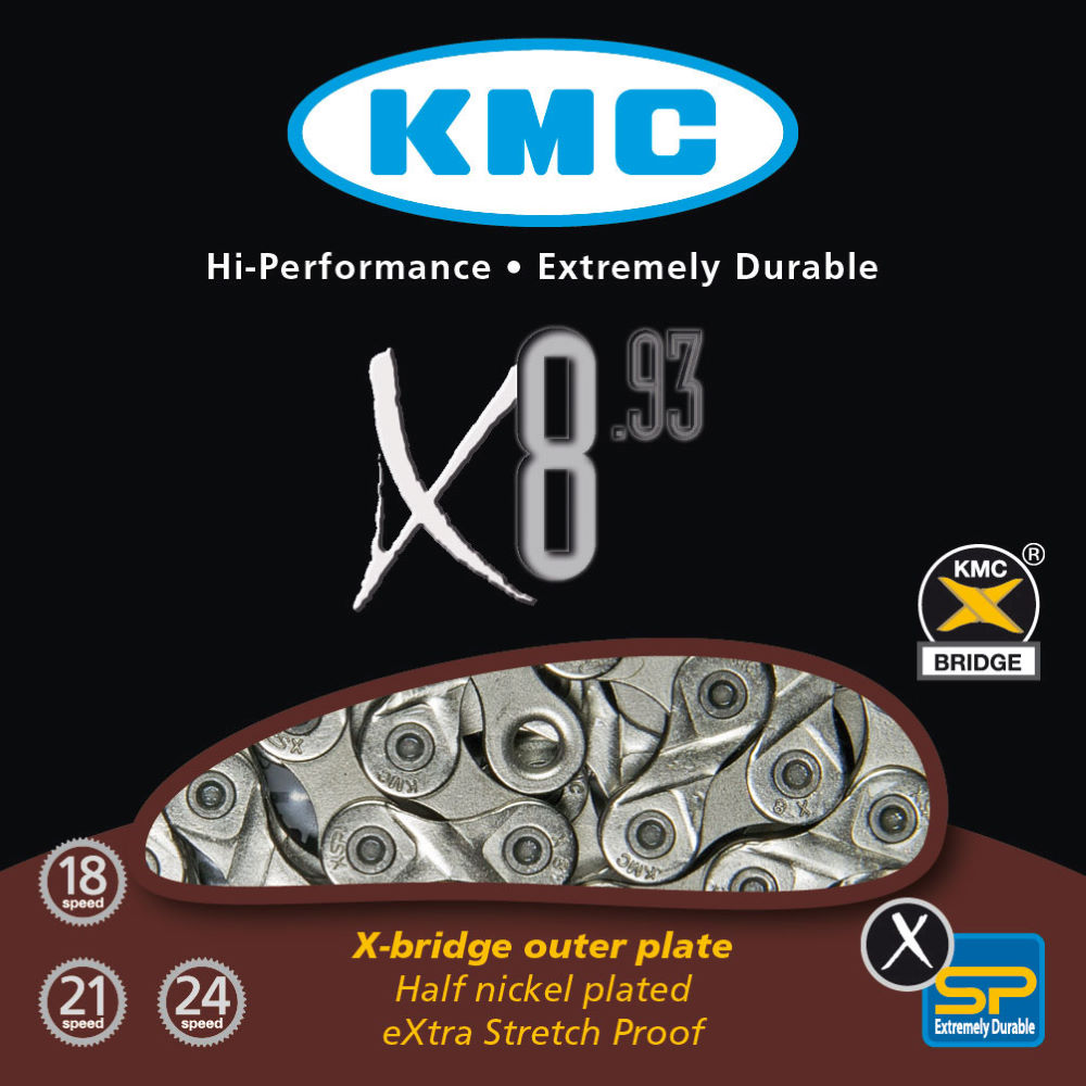 KMC X8.93 8-Speed Chain