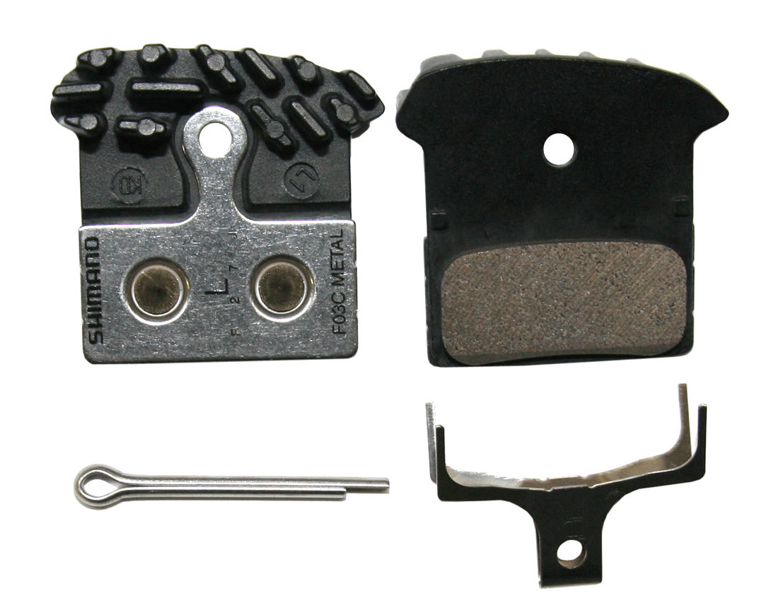Shimano Disc Brake Pads Ice-Tec F03C (Metal)