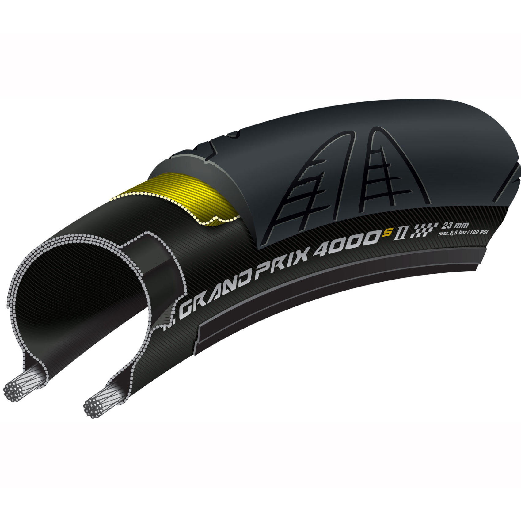 Continental Grand Prix 4000s II 700x23C black