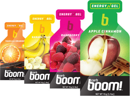 Boom! ENERGY Gels
