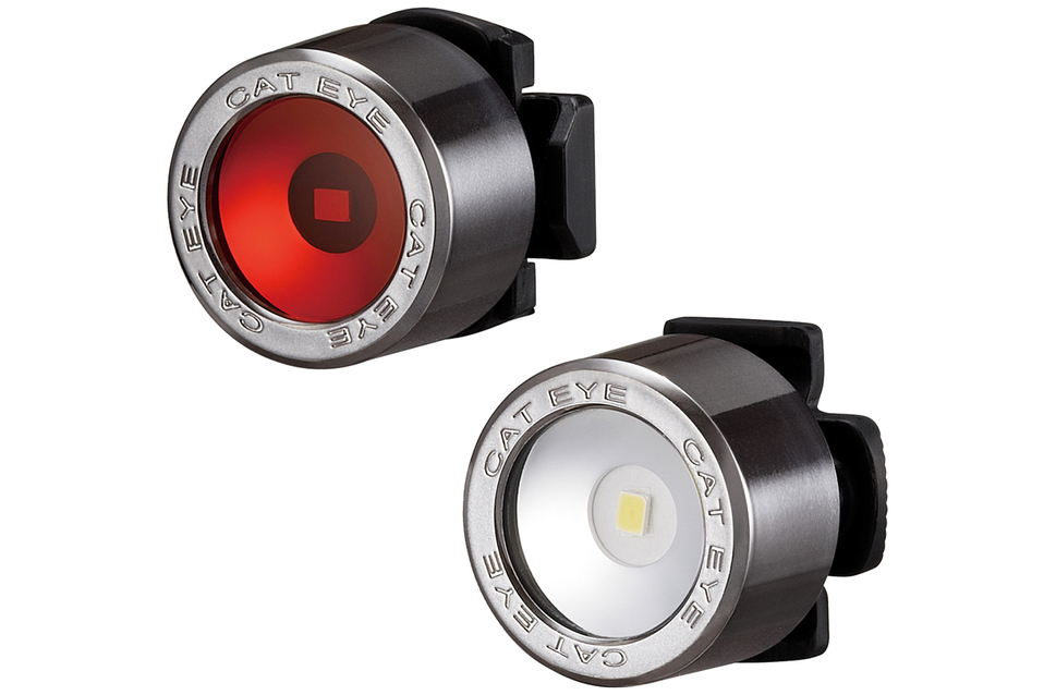Cateye NIMA Front/Rear LED Light Set