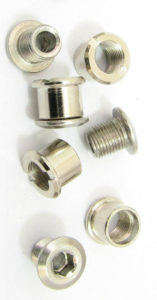 set of 4 double chainring bolts
