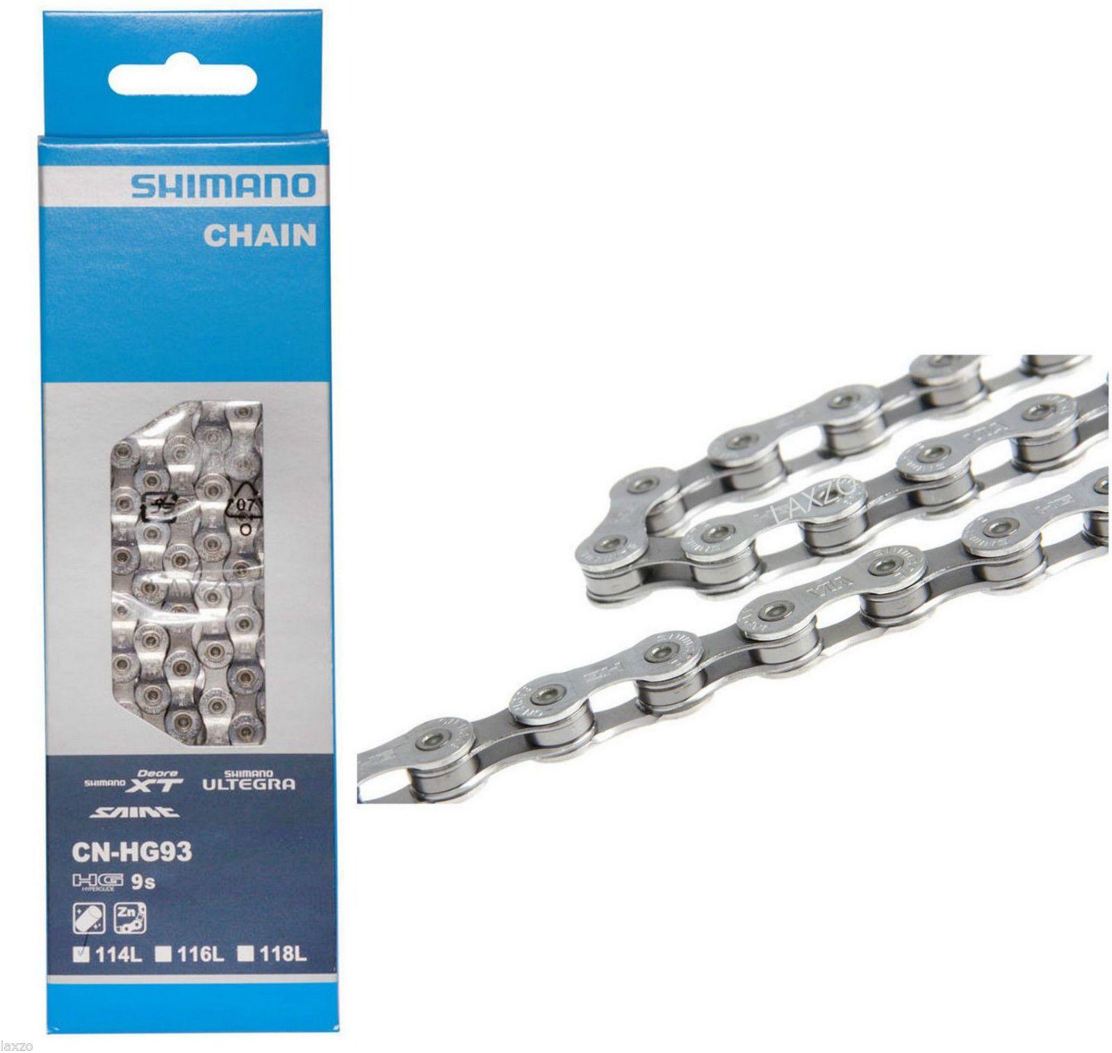 SHIMANO XT Super Narrow CNHG93 114L 9-SPEED