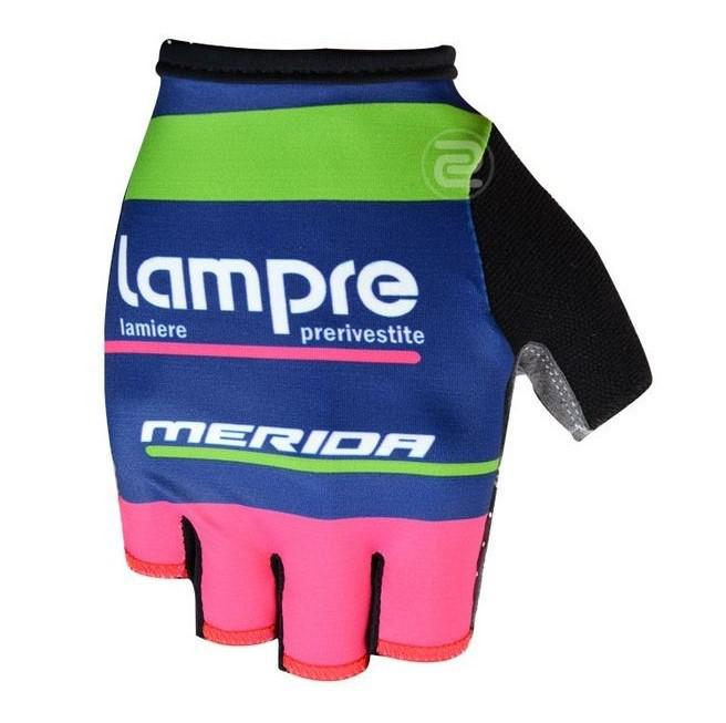 lampre merida high quality cycling gloves half-finger pro bicykle gloves